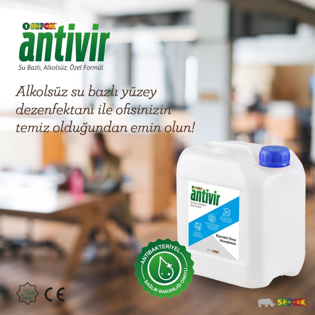 Antivir  Yüzey Dezenfektanı 5 Lt